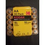 Kodak 30 pack battery's