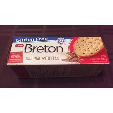 Gluten Free Dare Breton Crackers Original with Flax ...