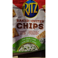 Ritz Baked Chips - Sour Cream & Onion