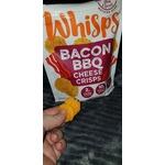 Whisps Bacon BBQ cheese crisps