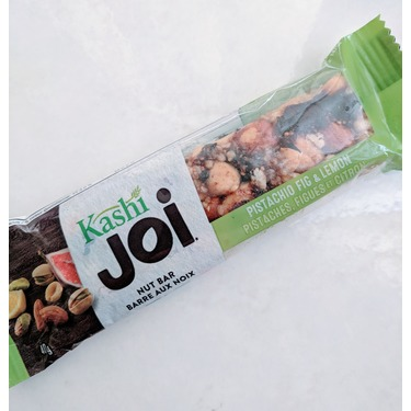 Kashi joy nut bar, pistachio fig and lemon