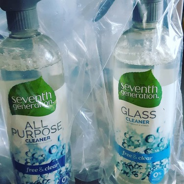 Seventh Generation Glass Cleaner - Free & Clear