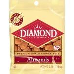 Diamond of California® Whole Almonds 2.25 oz. Peg