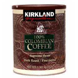 Kirkland Signature Dark Colombian Ground Coffee