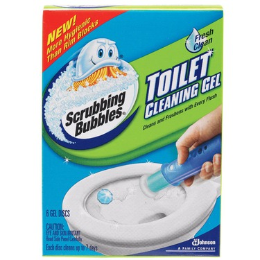 Scrubbing Bubbles Toilet Cleaning Gel Stamp