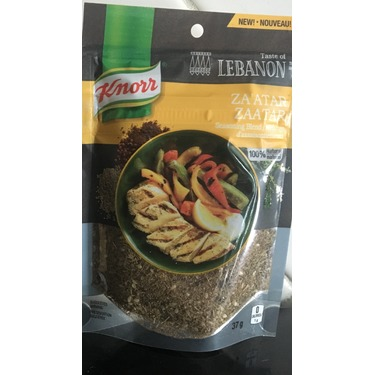 Knorr Taste of Lebanon Za'atar Seasoning Blend