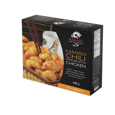 Asian inspirations- mango chili chicken