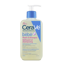 Cerave Bébé Shampoo and Wash