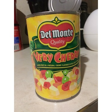 Del Monte Fruit Cocktail very cherry