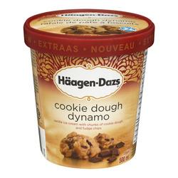 Haagen-Dazs extraas cookie dough dynamo