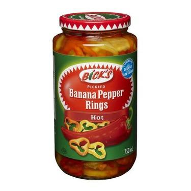 Bick's Pickled Banana Pepper Rings