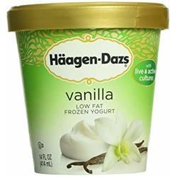Haagen-Dazs Low Fat Frozen Yogurt Vanilla