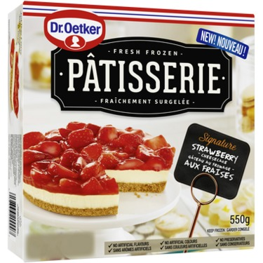 Dr Oekter Patisserie Strawberry Cheesecake