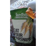 Hardbite Eat Your Parsnips Handcrafted Lightly Salted Parsnip Chips