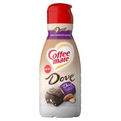 Coffee Mate Dove Dark Chocolate Almond Liquid Coffee Creamer