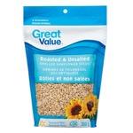 Great Value Roasted & Salted Sunflower Seeds