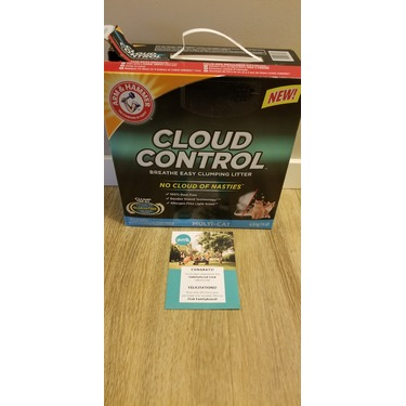 Arm & Hammer Cloud Control Clumping Cat Litter (Multi-Cat)