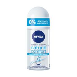 Nivea Natural Comfort Roll on Deodorant 0% Aluminum