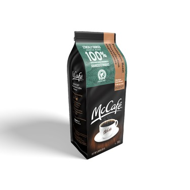 McDonald's McCafé medium dark roast fine ground coffee