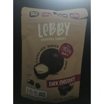 Lebby chickpea snacks - dark chocolate