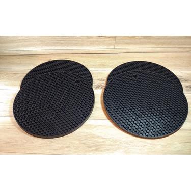 "smithcraft 7""×7"" Round Silicone Trivet Pot Holder"