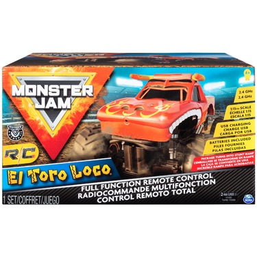 Monster Jam Official El Toro Loco Remote Control Monster Truck
