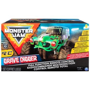 Monster Jam Official Grave Digger Remote Control Truck