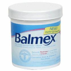 Balmex Diaper Rash Cream, 16-Ounce Jars