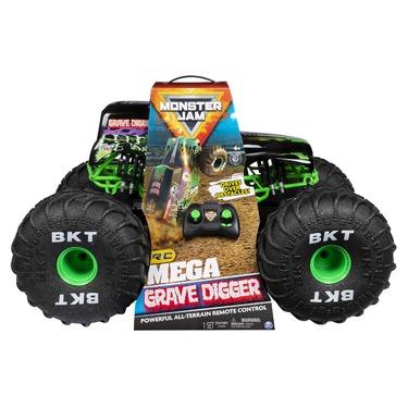 Monster Jam Mega Grave Digger Remote Control Monster Truck