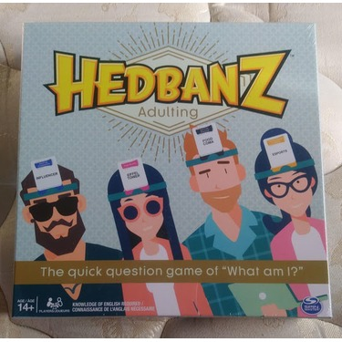 Hedbanz Adulting Game