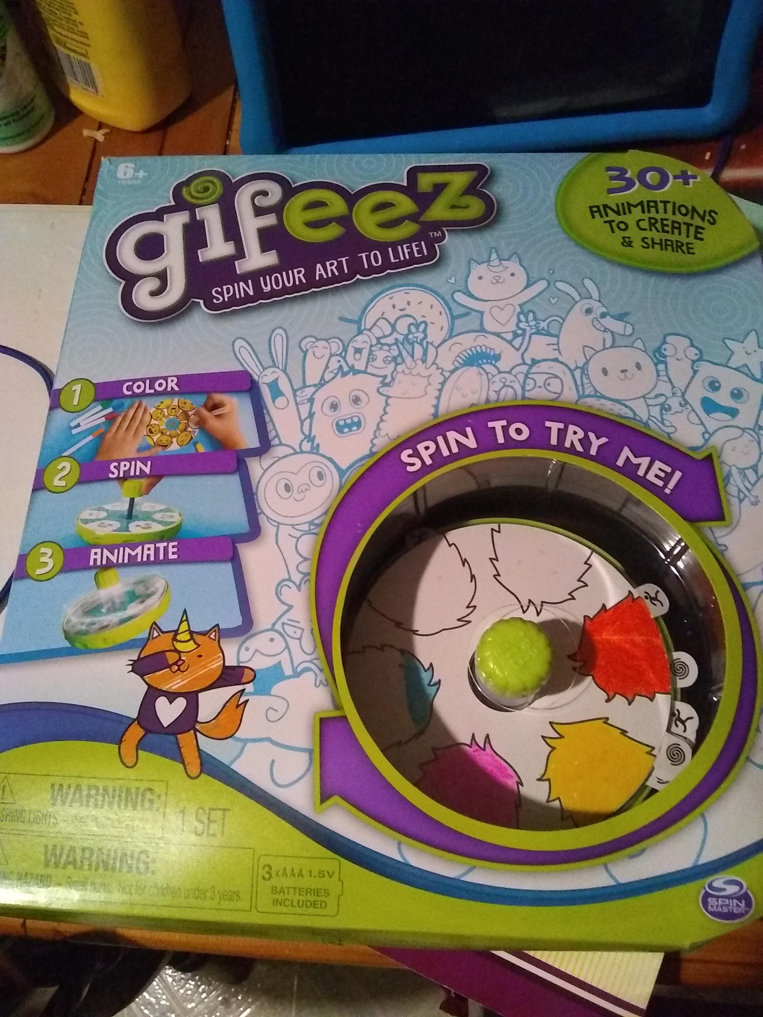 Gifeez Spin Studio Craft Activity Kit new in box