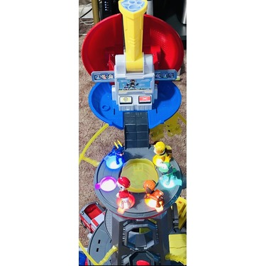 PAW Patrol Mighty Pups Super PAWs Lookout Tower Playset