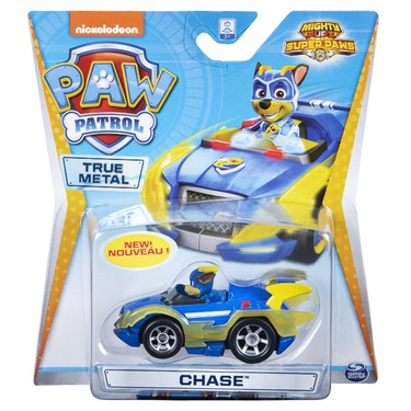 PAW Patrol Mighty Pups Super PAWs Collectible True Metal Vehicle