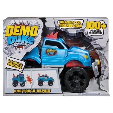 Demo Duke - Crashing and Transforming Vehicle