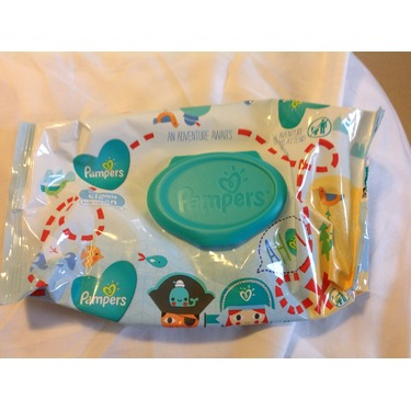 Pampers complete clean wipes - baby fresh scent
