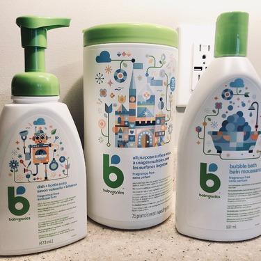 Babyganics Bubble Bath - Fragrance Free