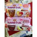 delmonte Bubble fruit Peach Strawberry Lemonade