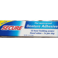 SECURE Waterproof denture Adhesive