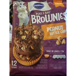 Pillsbury place n bake brownies