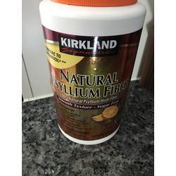 Kirkland natural psyllium fiber