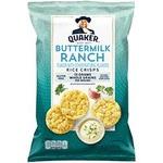 Quaker Buttermilk Ranch Rice Crisps