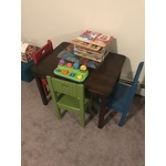 Children's wood table