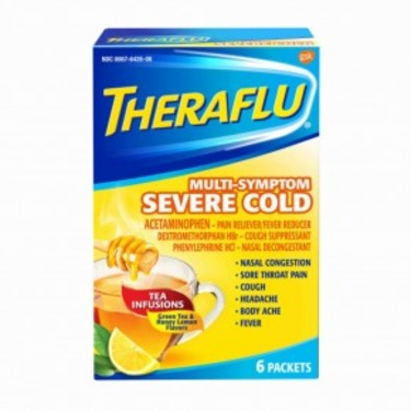 Theraflu Multi-Symptom Hot Liquid Powder