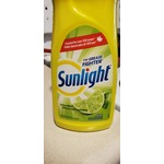 Sunlight dish soap lime