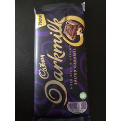 Cadbury  Darkmilk Salted Caramel