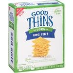 Good Thins the Corn One with Sea Salt