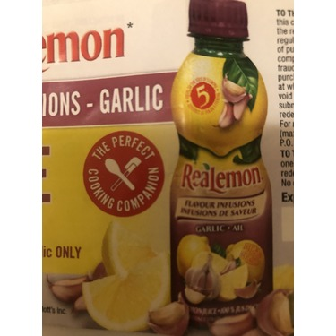 ReaLemon Flavour Infusions - Garlic