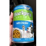 Barker's complete with chicken cuts in gravy