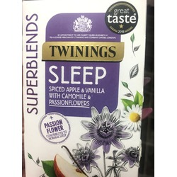 Twinings Sleep Spiced Apple & Vanilla with Camomile & Passionflowers