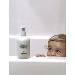 Pipette baby shampoo and wash